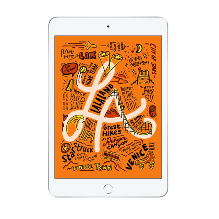 Tablet Apple Ipad Mini 5 Muu52bz/a Prata 256gb Wi-fi