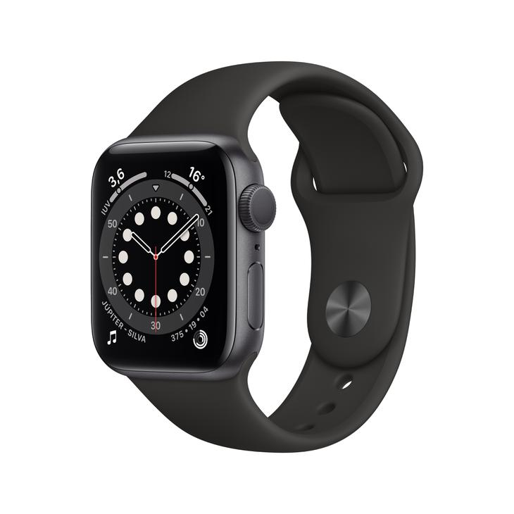 Smartwatch Apple Watch Series 6 40mm - Cinza/preto