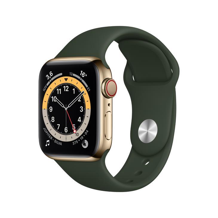 Smartwatch Apple Watch Series 6 40mm - Dourado/verde