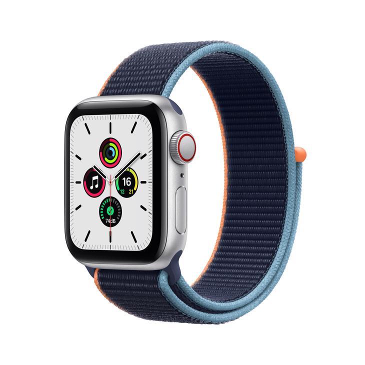 Smartwatch Apple Watch Se 40mm - Azul/prata