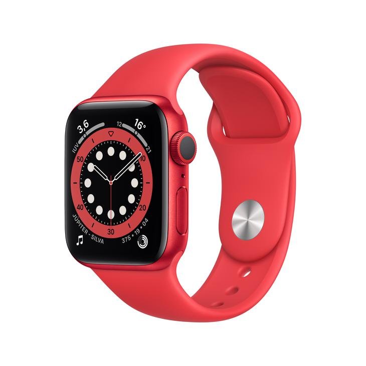 Smartwatch Apple Watch Series 6 40mm - Vermelho