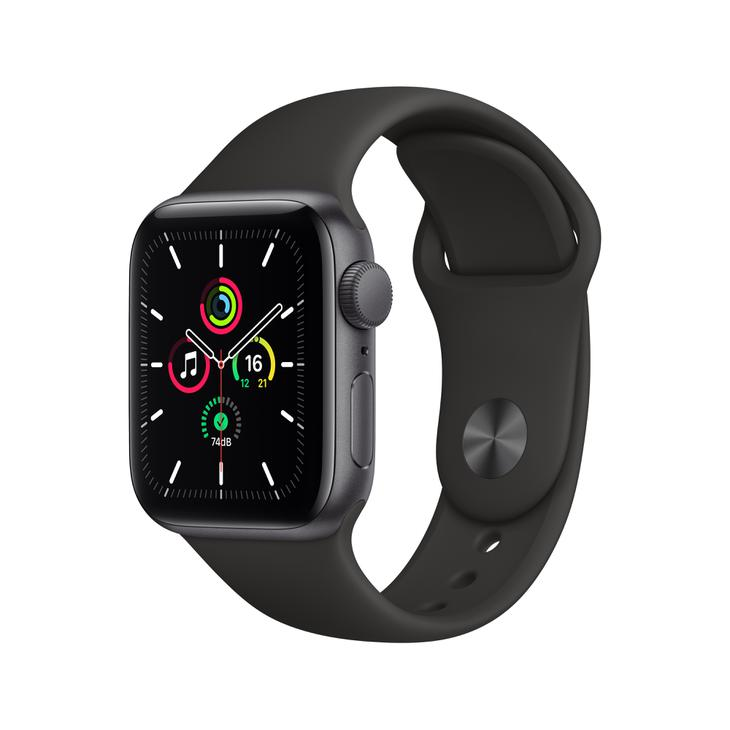 Smartwatch Apple Watch Se 40mm - Cinza/preto