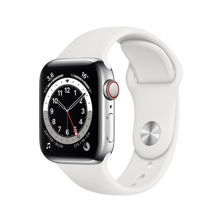 Smartwatch Apple Watch Series 6 40mm - Prata