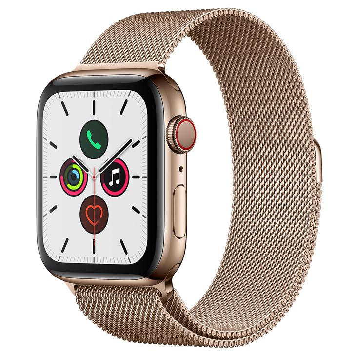 Smartwatch Apple Watch Series 5 - Dourado