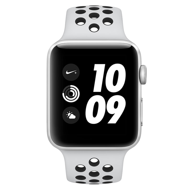 Smartwatch Apple Nike+ 42mm - Prata