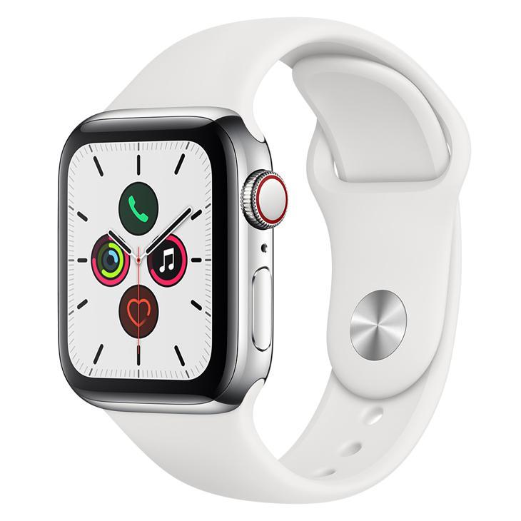 Smartwatch Apple Watch Series 5 40mm - Branco/prata