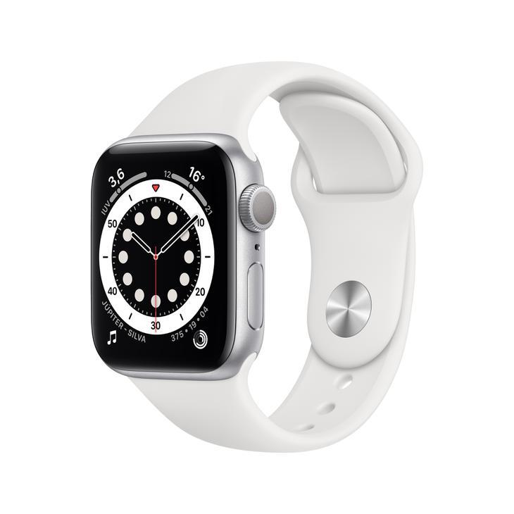 Smartwatch Apple Watch Series 6 40mm - Branco/prata