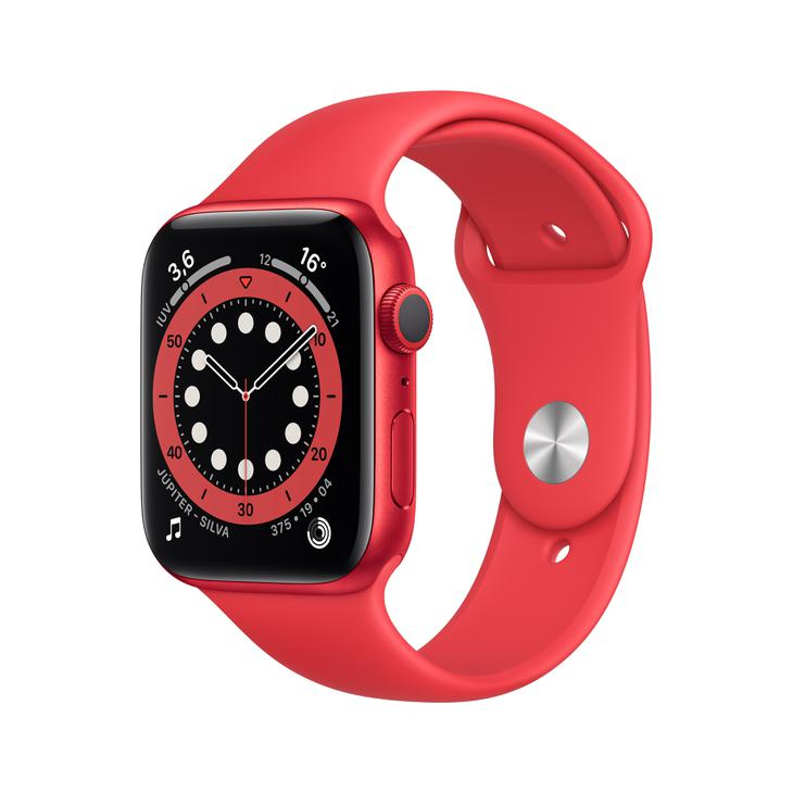 Smartwatch Apple Watch Series 6 44mm - Vermelho